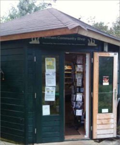 Header image - Out and about in the Community Shop